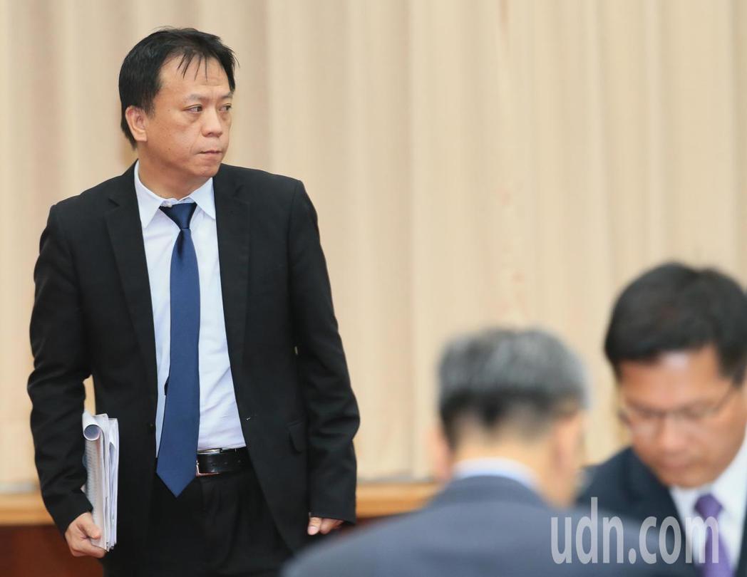 總統府副秘書長施克和(左)出席。記者潘俊宏/攝影