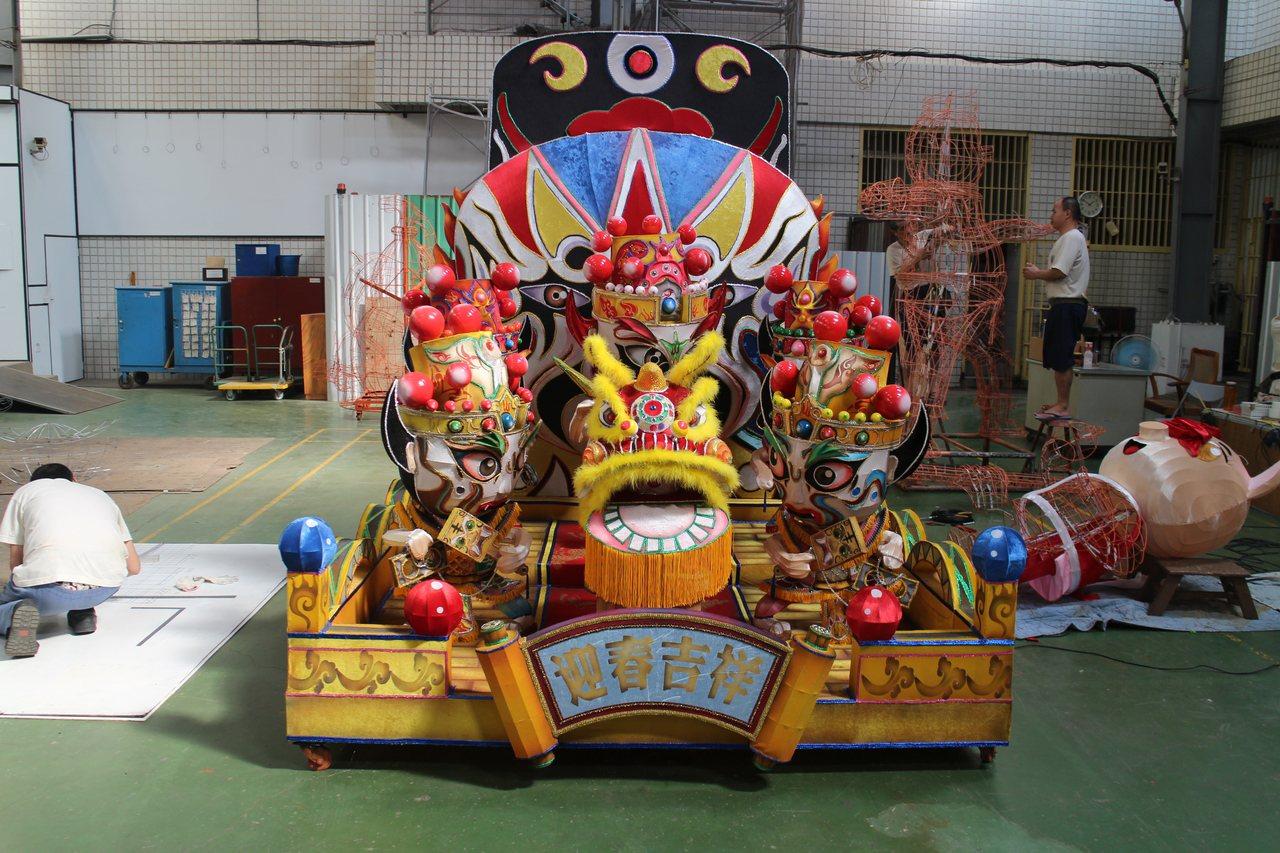 鐵窗內燈藝揚名國際 神戶跨海委託彰化監獄製作花燈