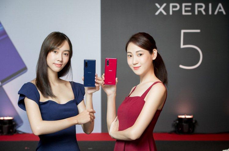 Xperia 5內建6G RAM/128GROM,有璃光黑、璃光灰、璃光藍及璃光...