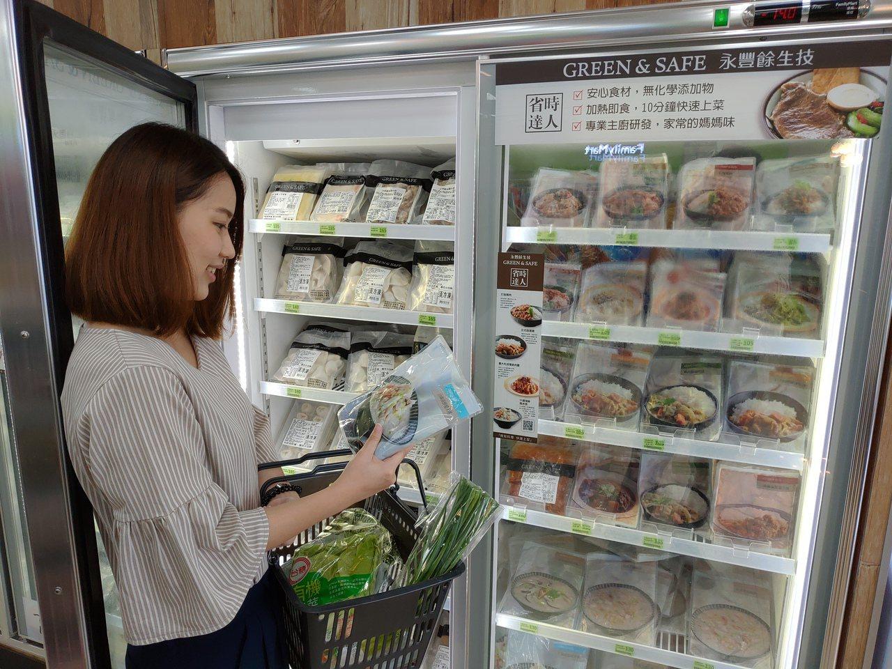 全家今年進一步規劃冷凍機能店型,周邊為小家庭、熟齡族群為主的住宅型商圈