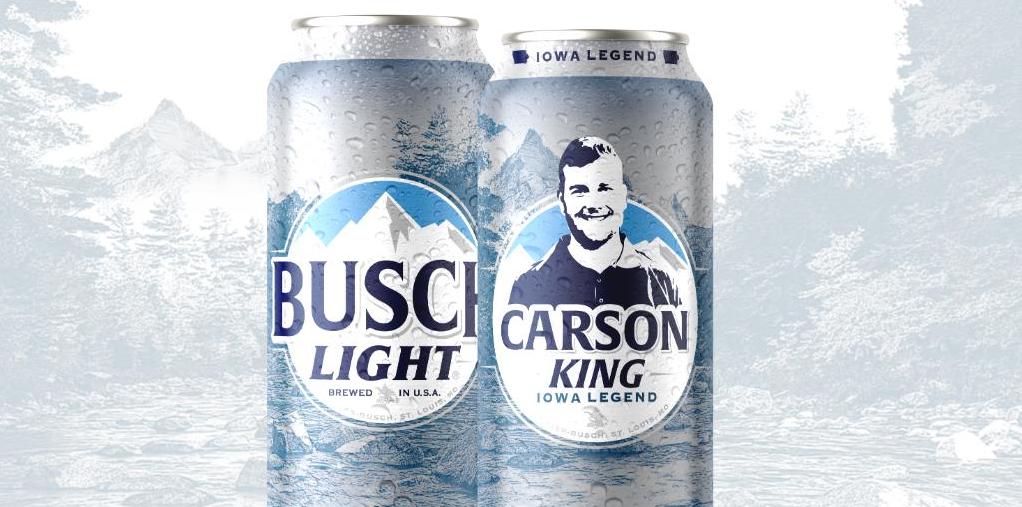 卡森金玩笑之舉最後募得100萬美元,他將捐給當地兒童醫院。啤酒公司把他的臉印製在...