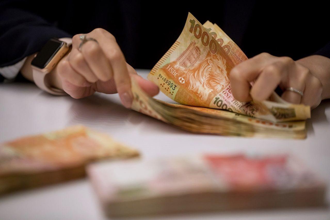 香港聯繫匯率制依然穩固如初。圖 /彭博