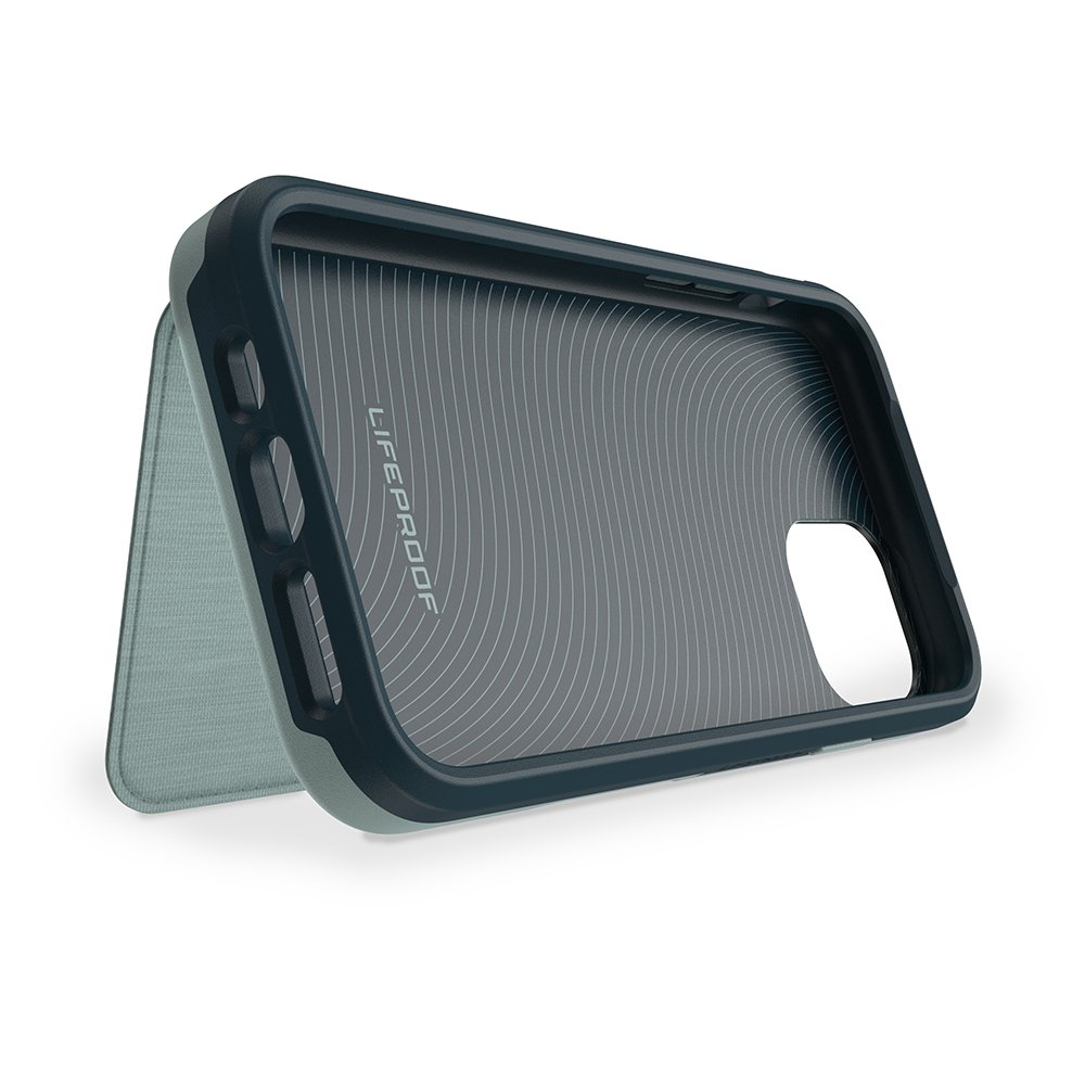 LifeProof全新Flip系列手機殼,對開設計可立起變支架。圖/LifePr...