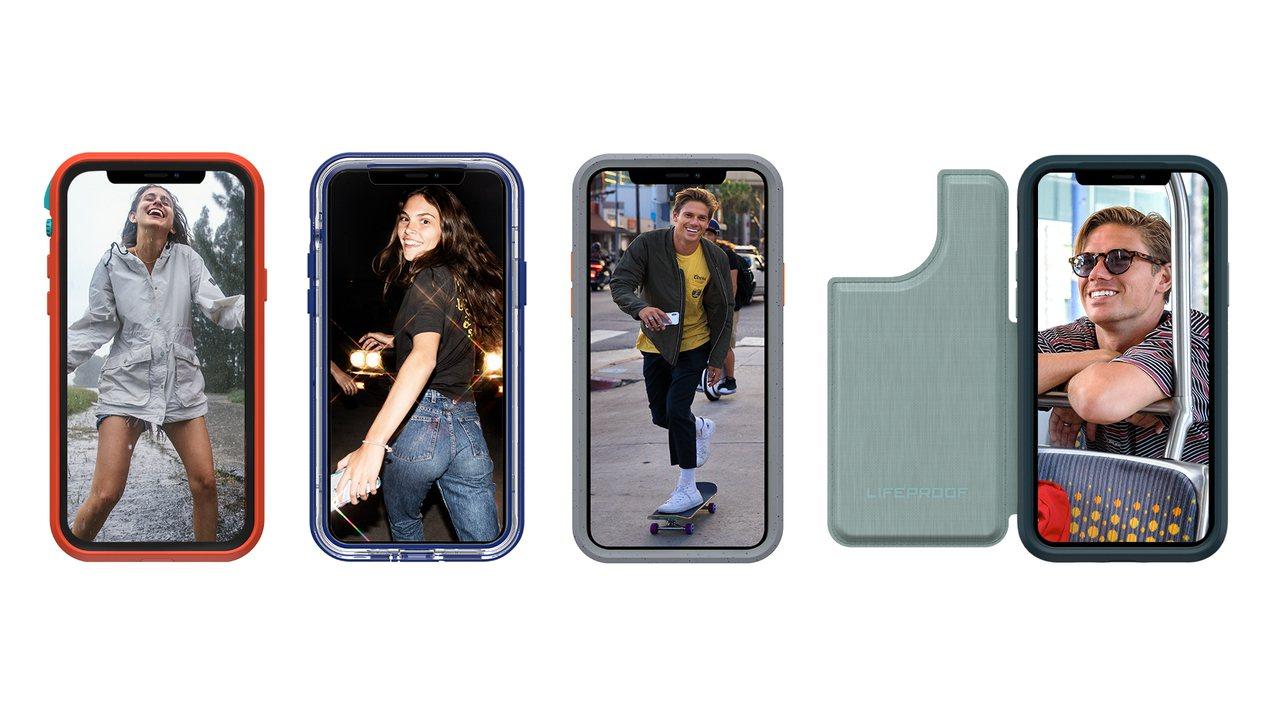 LifeProof針對iPhone 11全系列推出專屬保護殼。圖/LifePro...