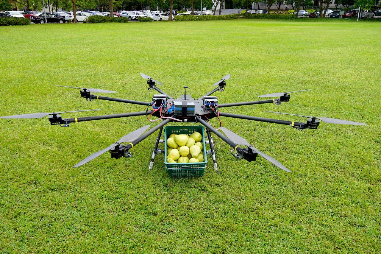 工研院無人機(圖)登上國際舞台,獲得杜拜基金第一輪奬金贊助。圖/工研院提供