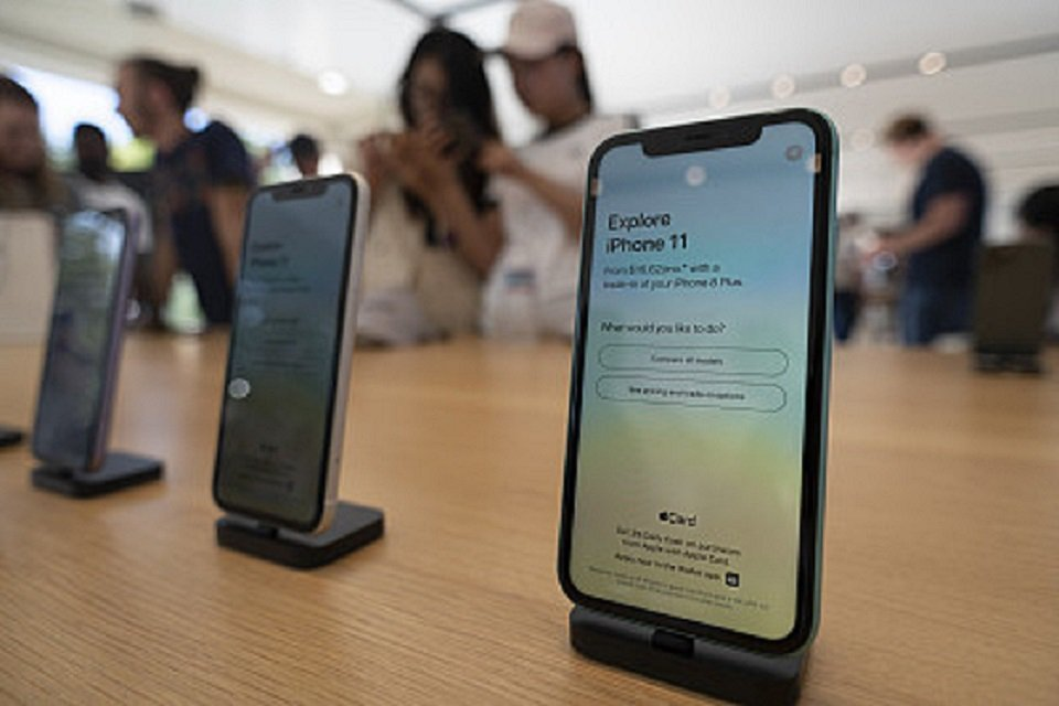 iPhone 11。圖/澎湃新聞