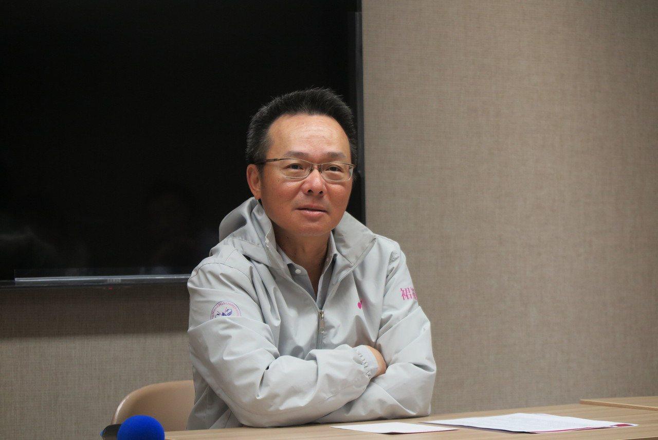中華高爾夫協會理事長王政松。記者毛琬婷/攝影