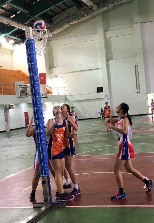 中華青年隊不敵新加坡隊苦吞4連敗。圖/中華籃網球協會提供