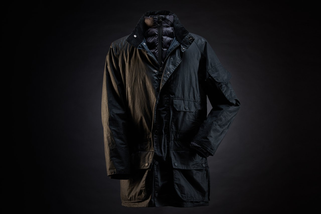金獎導演雷利史考特與Barbour聯名系列男裝油布夾克,並紀念125周年。圖/B...
