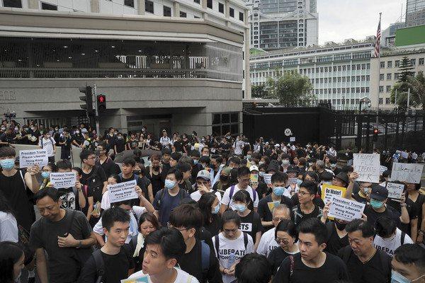 香港反送中運動持續。美聯社