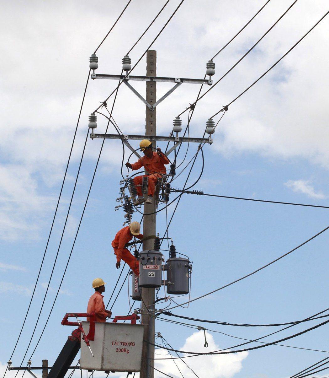 越南兩年內恐面臨缺電壓力。  路透