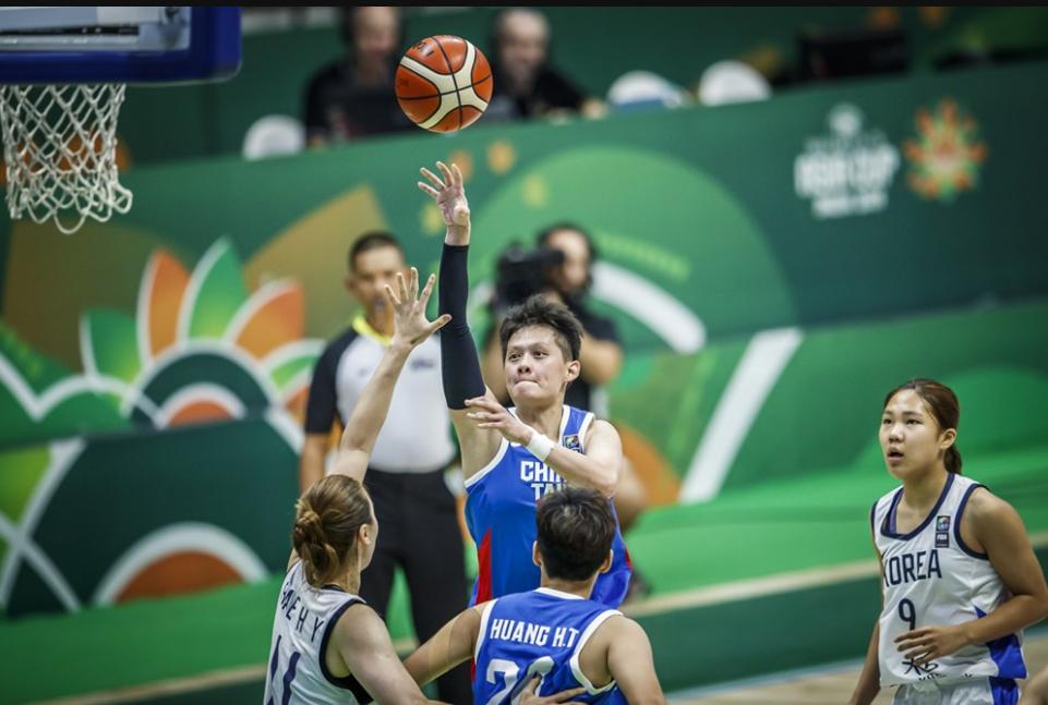 中華隊黃凡珊進攻。 圖/取自FIBA官網