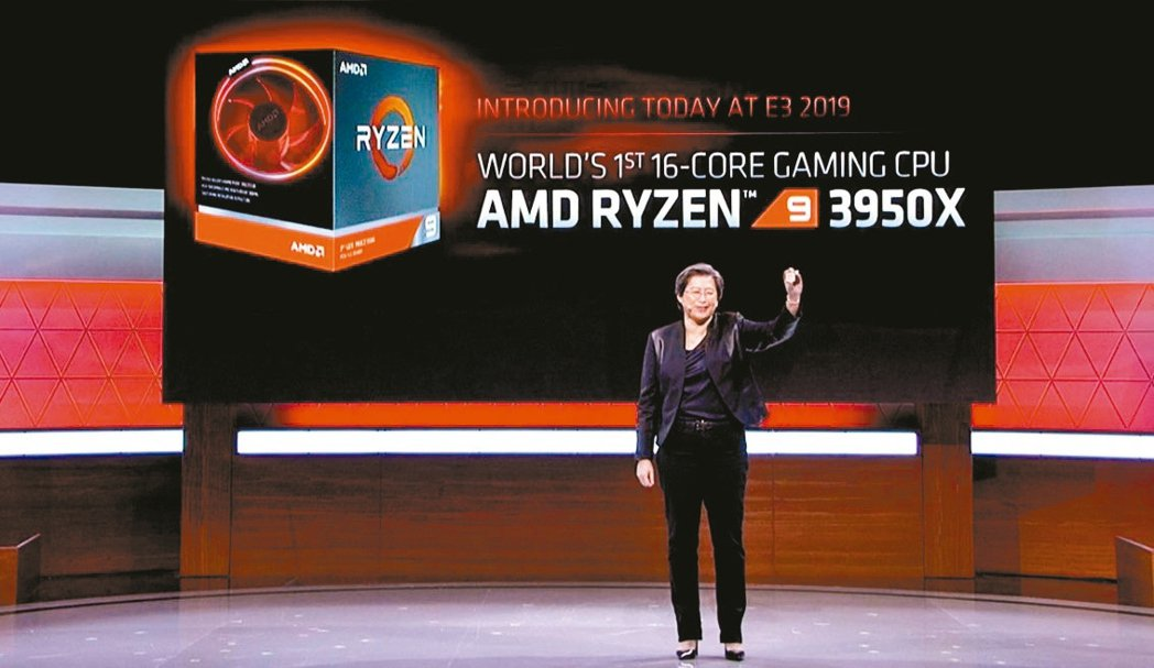 超微原訂本月推出的今年最高階處理器「Ryzen 9 3950X」確定延至11月上...