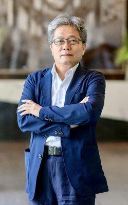 台中七期豪宅「推手」寶輝建設總經理蘇良智。 記者宋健生/攝影