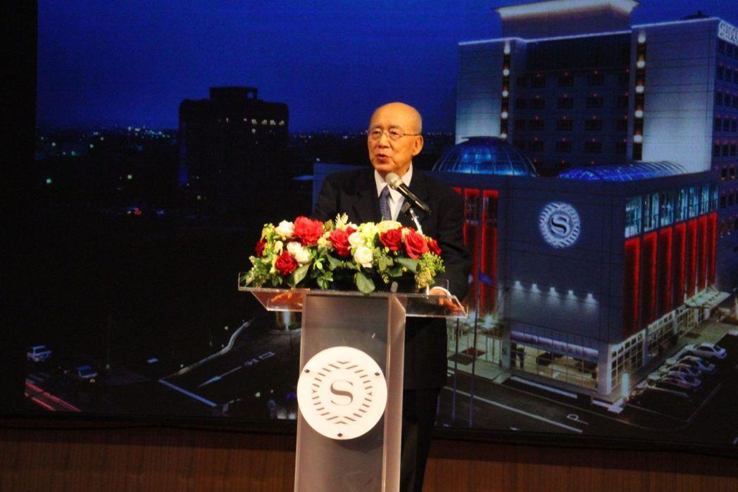 國民黨榮譽主席吳伯雄致詞 業者/提供