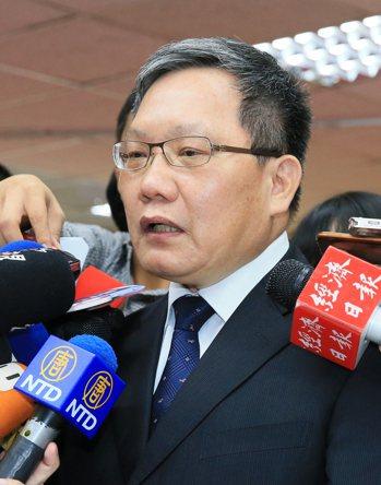 財政部長蘇建榮。聯合報系記者潘俊宏/攝影