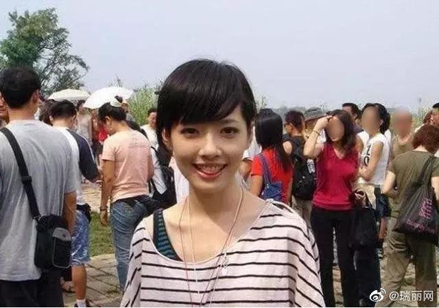 郭碧婷也曾有短髮時期 圖/擷自微博