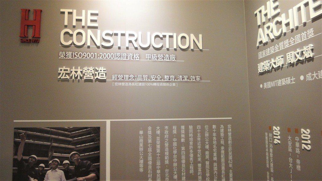 長虹建設對建築安全的標準一絲不苟近乎苛求。圖/倪子仁提供