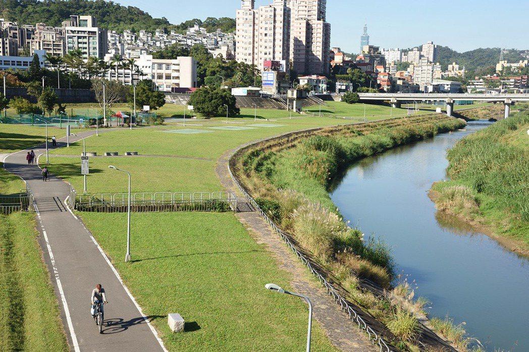 北市府定位此區為生態景觀之智慧永續社區。圖/長虹建設提供