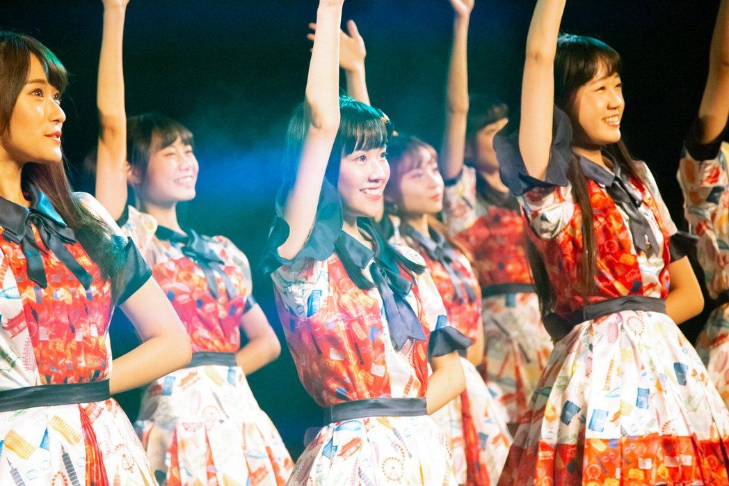 女團「AKB48 Team TP」舉辦成軍周年演唱會。圖/好言娛樂提供