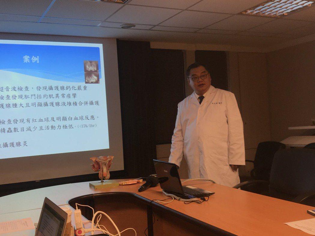 書田診所泌尿科主任醫師杜元博表示,慢性攝護腺發炎是專屬男性才有疾病,好發於20至...
