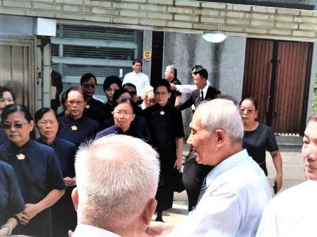 呂崇民父呂國震法會 中台禪寺住持明率108位法師進行