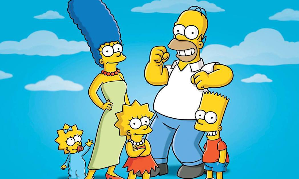 麥可曼德爾製作動畫「辛普森家庭」。圖/摘自IMdb