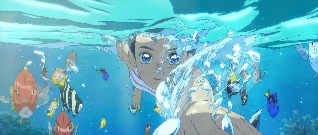 「海獸之子」夢幻海洋國度驚呆女神蒼井優。圖/甲上提供