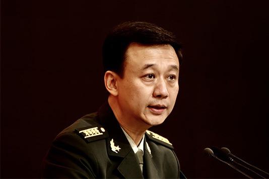 中國大陸國防部新聞局局長、新聞發言人吳謙。圖/取自澎湃新聞