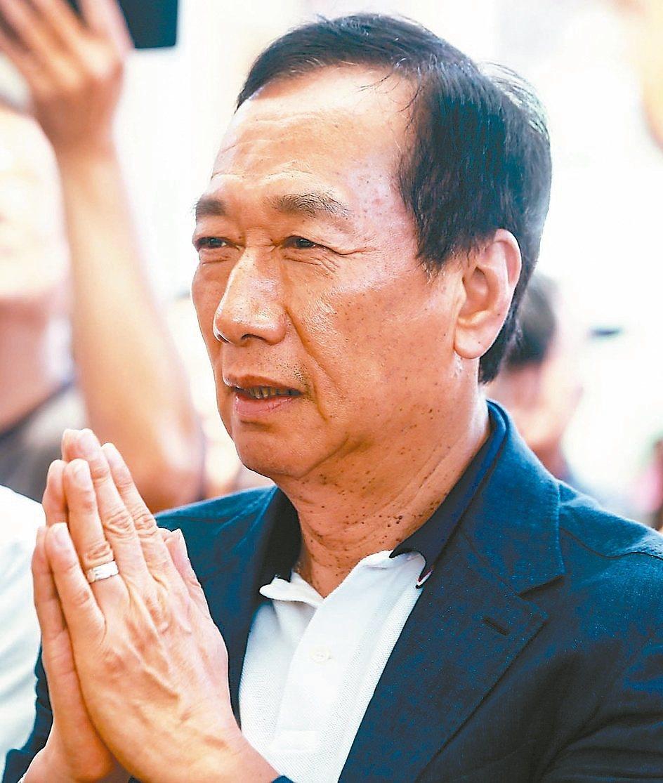 鴻海創辦人郭台銘。圖/聯合報系資料照片