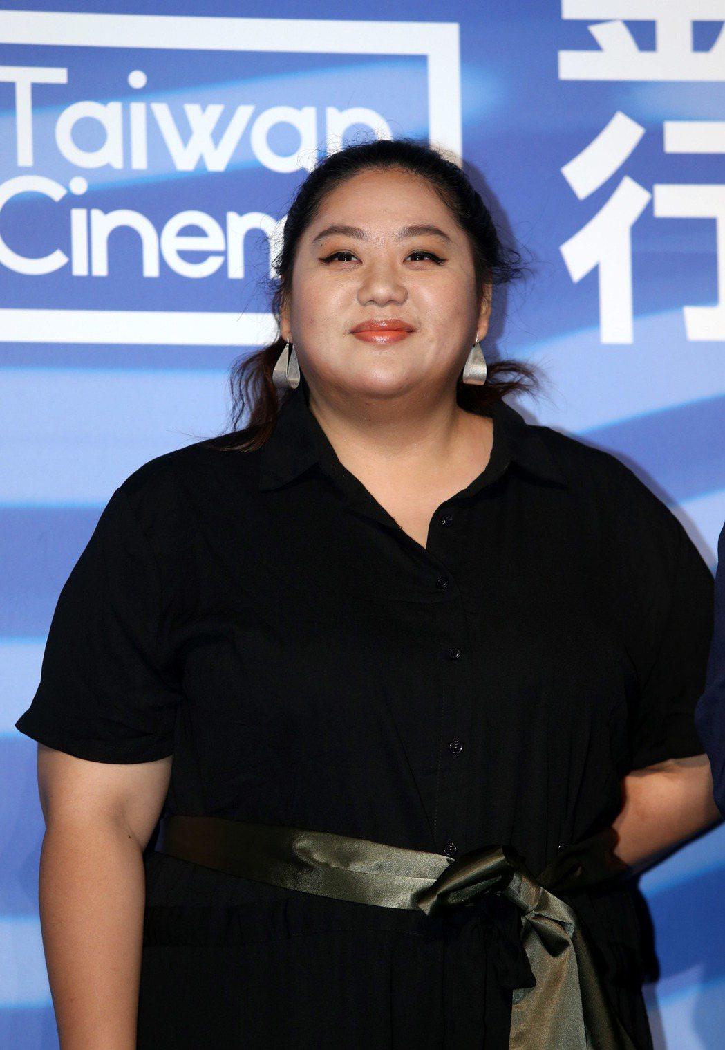 2019年釜山影展行前記者會,電影大餓演員蔡嘉茵。記者邱德祥/攝影
