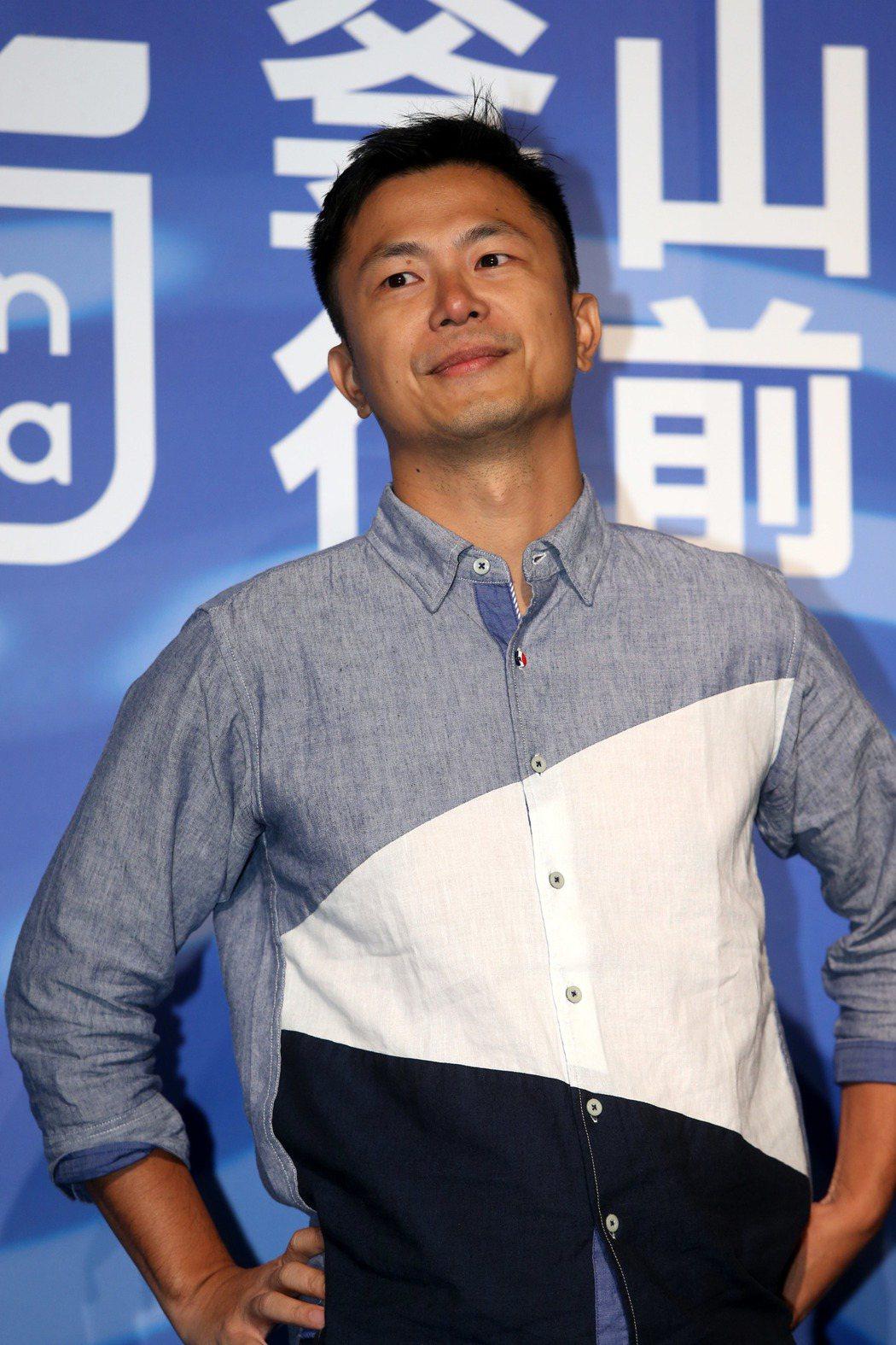 2019年釜山影展行前記者會,電影江湖無難事導演高炳權。記者邱德祥/攝影