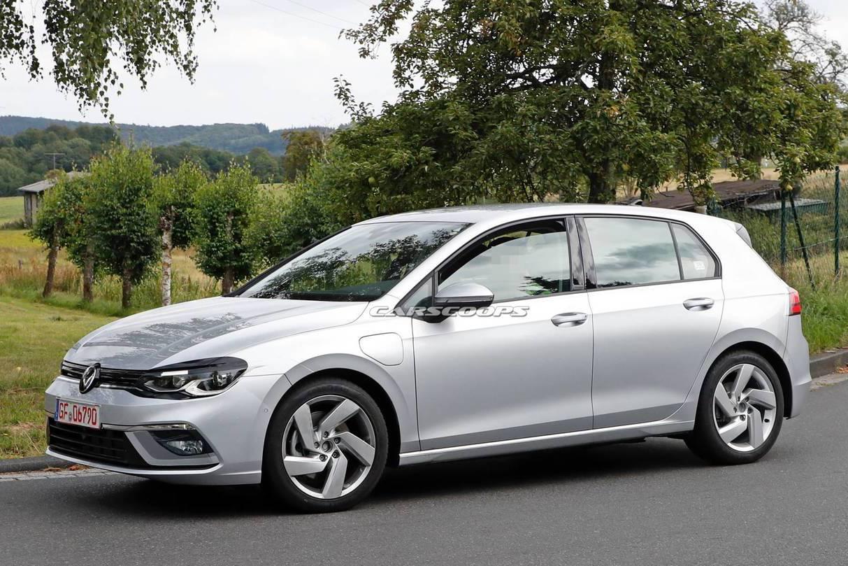 全新第八代Volkswagen Golf GTE測試中 取代TDI的另一選項