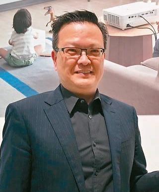 宏碁泛亞營運總部總經理侯知遠 記者謝艾莉/攝影