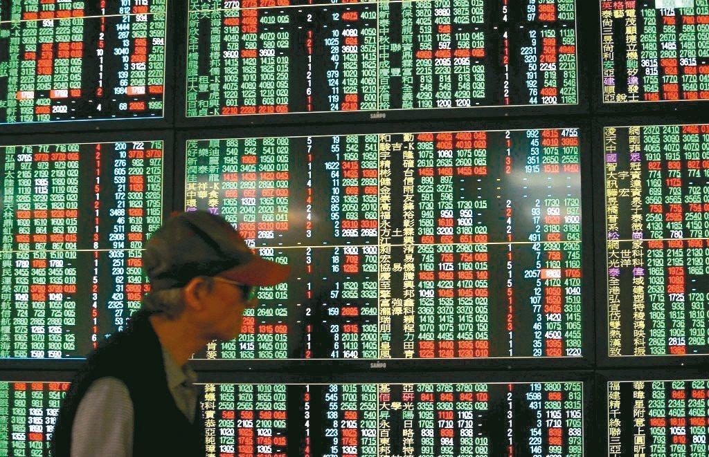 電金股今日平淡,台股表現轉弱。 圖/聯合報系資料照片