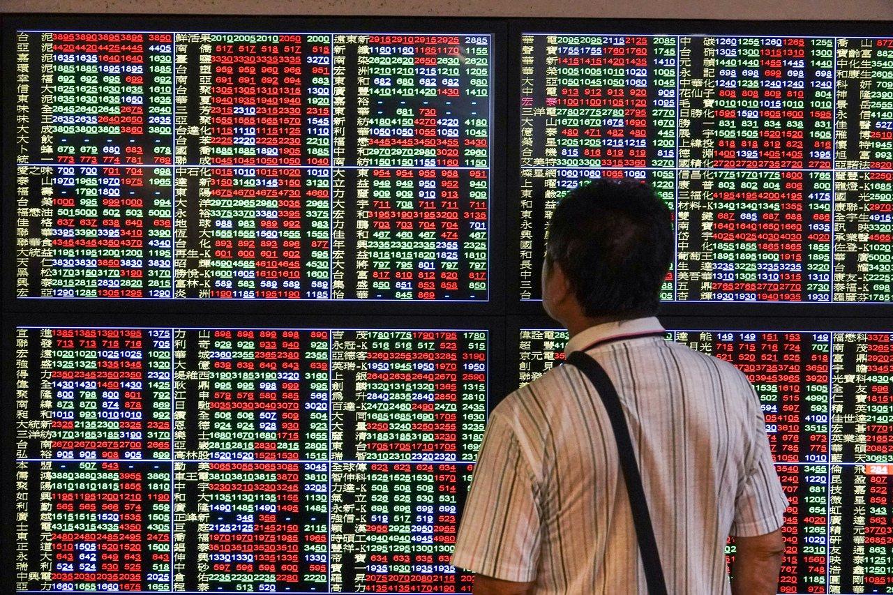美中雙方談判前美股周二大跌,台股9日開低走低。報系資料照