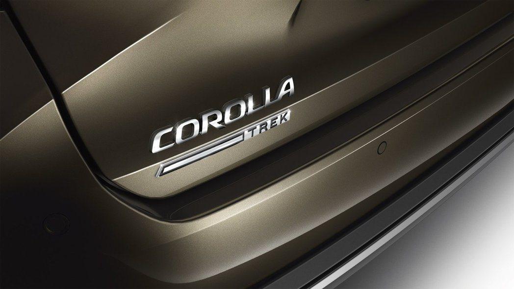 Toyota Corolla TREK跨界車型亮相。 摘自Toyota EU