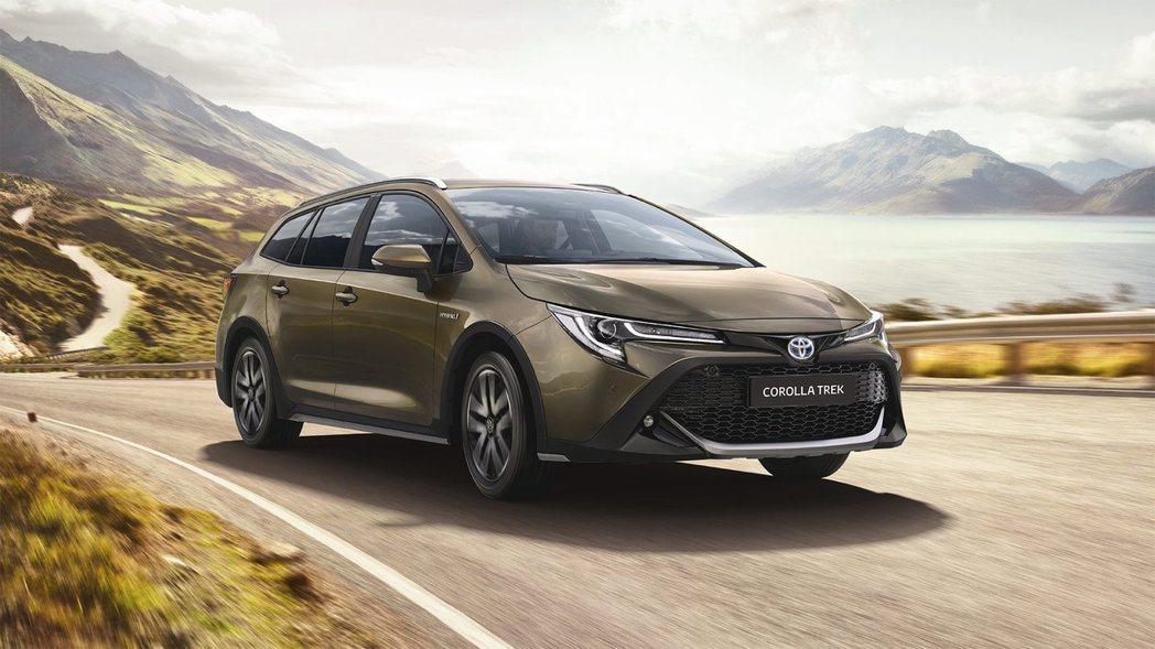Toyota Corolla TREK。 摘自Toyota EU