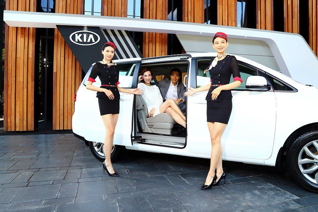 KIA Grand Carnival擁有7及8人座2款車型設定,5,115m車身...