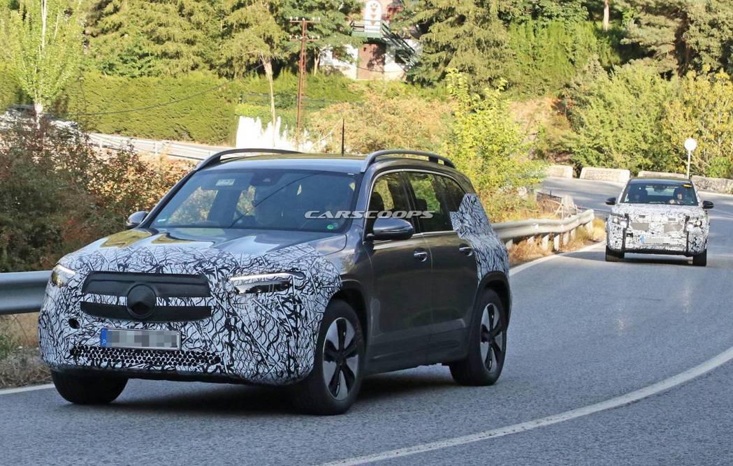 全新EQB預計將成為Mercedes-Benz第三款純電作品。 摘自Carsco...