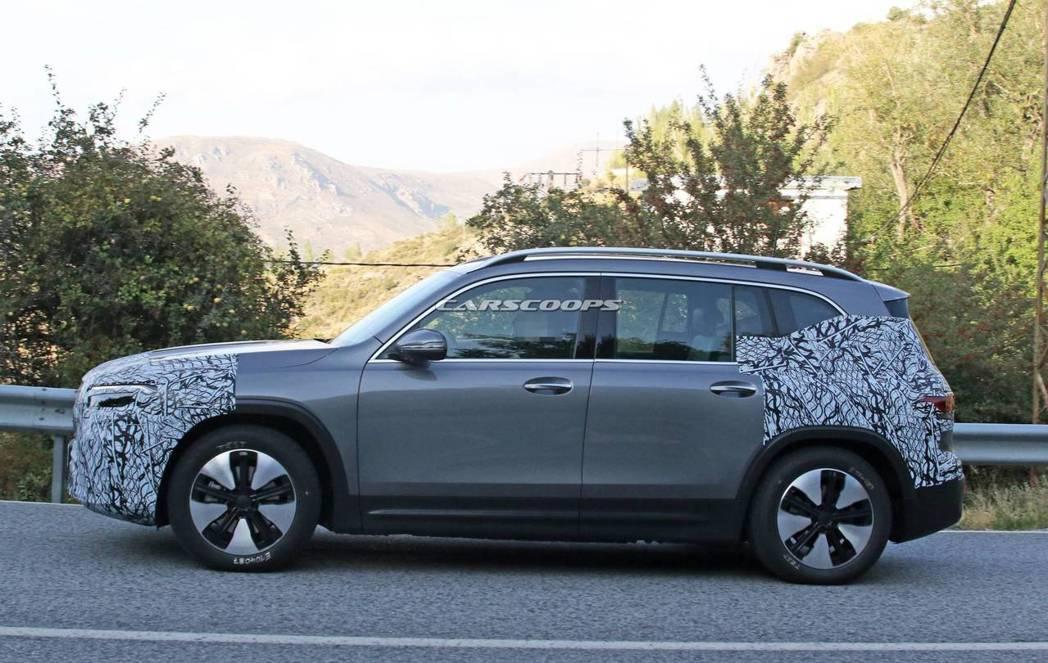 全新Mercedes-Benz EQB是以GLB身形作為打造。 摘自Carsco...