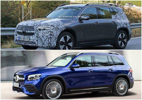 GLB推出後馬上有純電版 全新Mercedes-Benz EQB小偽裝現身!