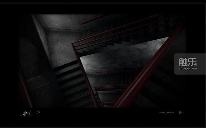 遊戲場景和另一款恐怖遊戲《SCP-087》有些相似