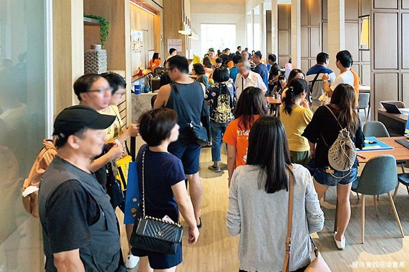 A7地王「竹城甲子園」轟動熱銷,1期即將完銷。 圖/A7地王竹城甲子園 提供