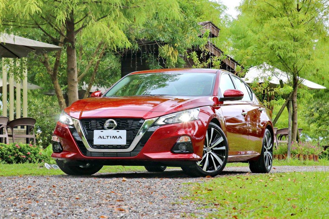 Altima絕對能顛覆過往對於Nissan的刻板印象。 記者陳威任/攝影