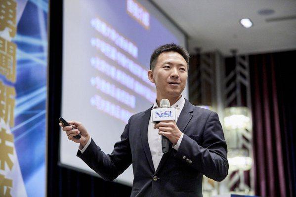 可夫萊堅果之家副總經理徐晉棠。