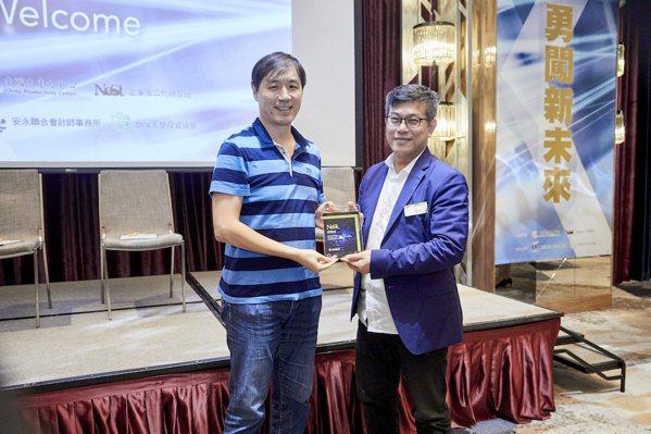 台灣天使投資協會理事長華陽創投董事長王韋中。