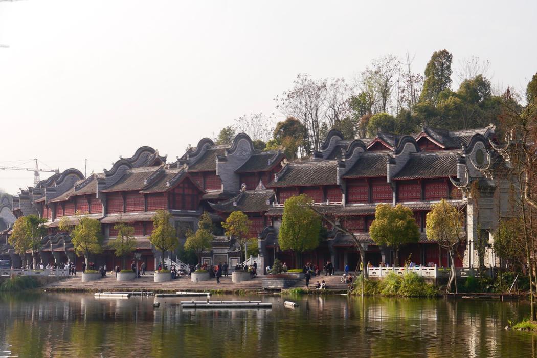 中國重慶/璧山秀湖國家濕地公園、秀湖水街(雲莊茶園)