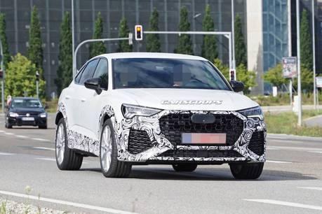 全新Audi RS Q3 Sportback路測現蹤 性感美背十足吸睛