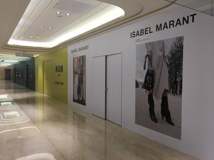 Proenza Schouler的櫃位由Isabel Marant取代。記者楊詩...